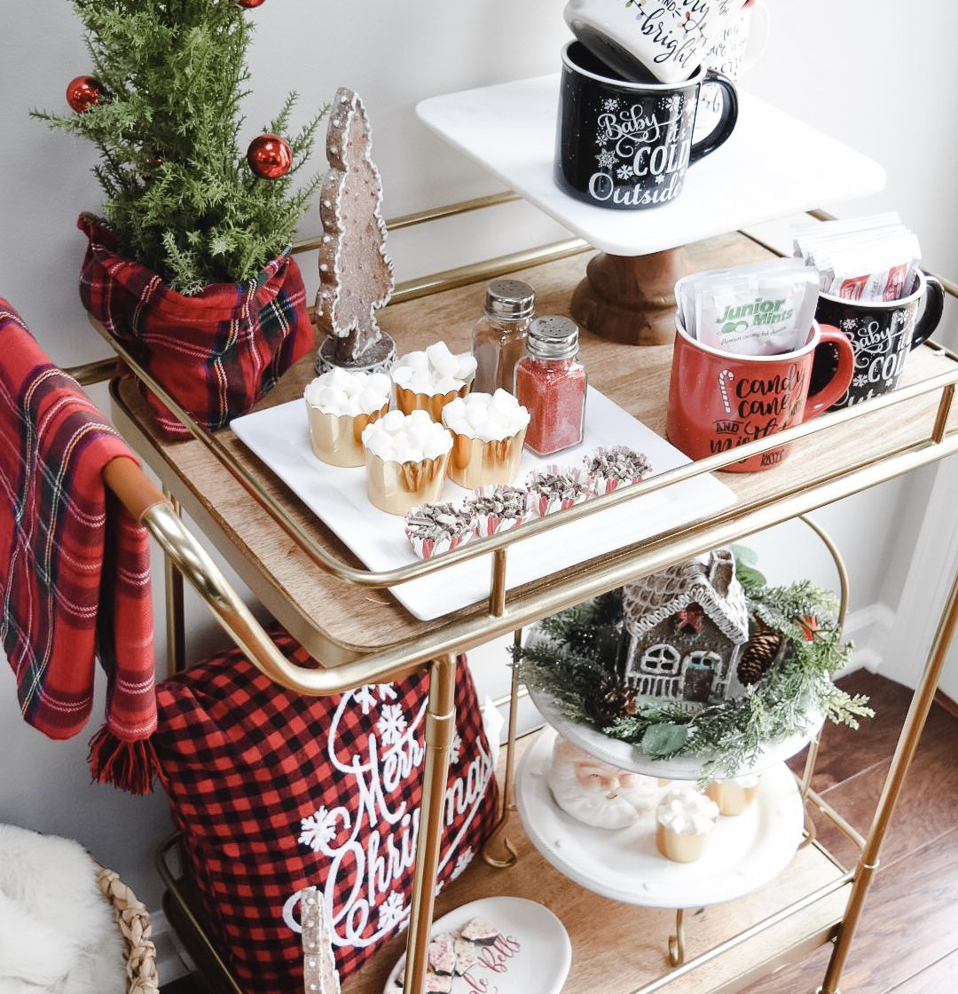 How to Style a Hot Cocoa Bar