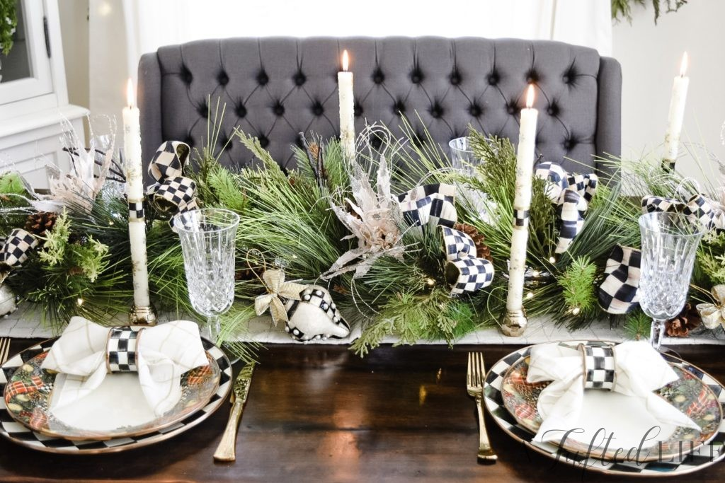 Styling your Holiday Table with Mackenzie-Childs