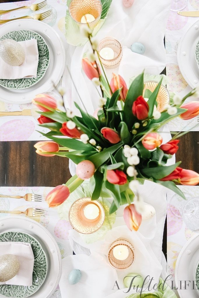 Create a Simple Easter Table Setting